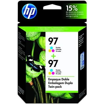 Cartucho HP 97 twin pack (2xc9363wl) tricolor c9349fl HP CX 2 UN Original
