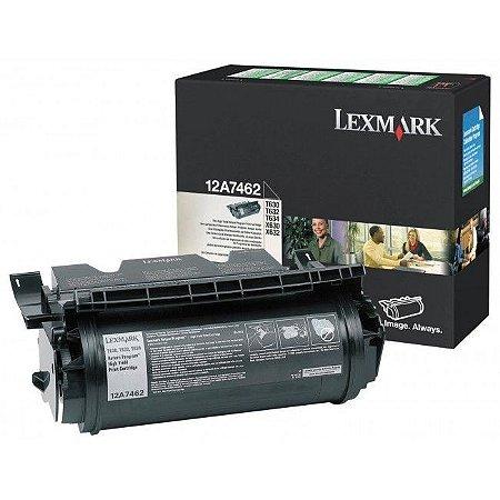 Toner Lexmark 12A7462 Original 21.000 cópias