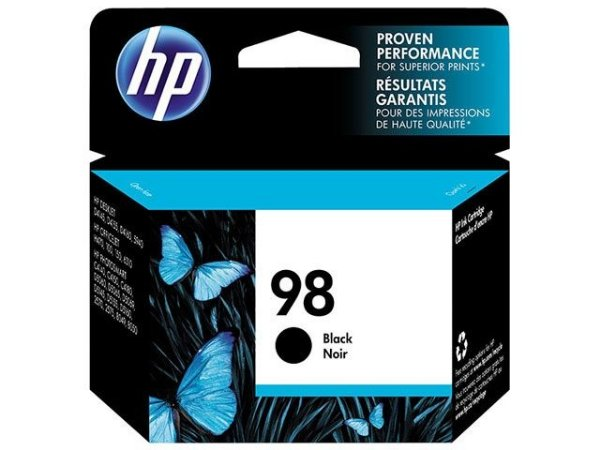 Cartucho HP 98 preto C9364WL Original