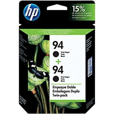 Cartucho HP 94 twin pack (2xc8765wl) preto c9350fl HP CX 1 UN