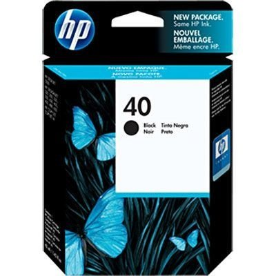 Cartucho HP 40 preto 42ml 51640a HP CX 1 UN