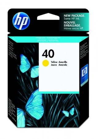 Cartucho HP 40 yellow 42ml 51640y HP CX 1 UN