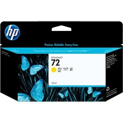 Cartucho HP 72 yellow 130ml C9373A HP CX 1 UN