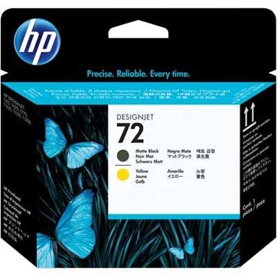 Cabeça de impressão Original  HP 72 preto/amarelo C9384A CX 1 UN