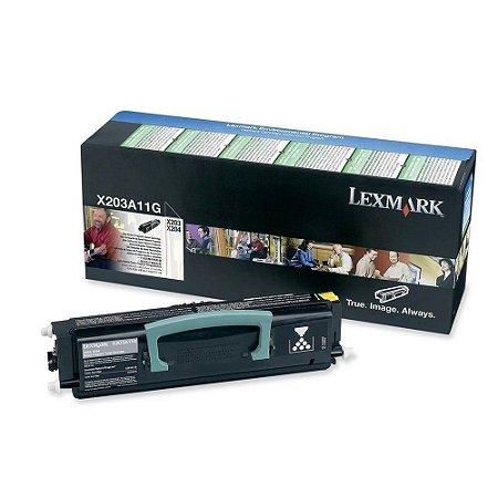 Toner Lexmark X203 X204 X203A11G Original