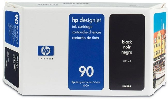 Cartucho HP 90 preto C5058A Original