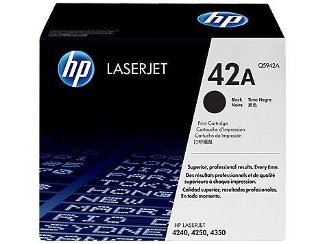 Cartucho toner p/HP laserjet p/10.000pg q5942a HP CX 1 UN