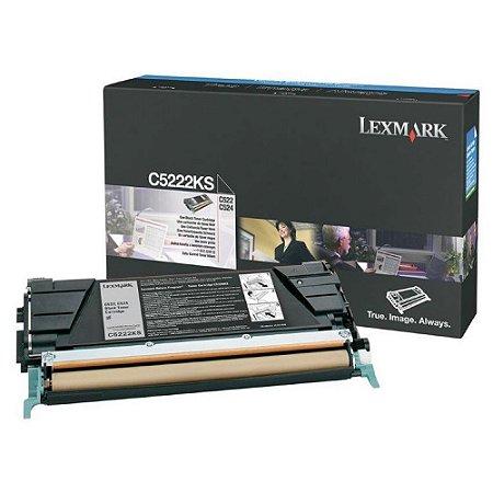 Cartucho de Toner Lexmark - C522 - C5220KS - Preto - Original