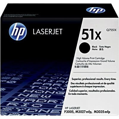Cartucho toner p/HP black Q7551X HP CX 1 UN