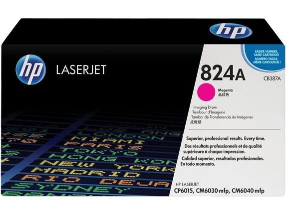 Tambor de imagem HP 824A CB387A LaserJet, magenta