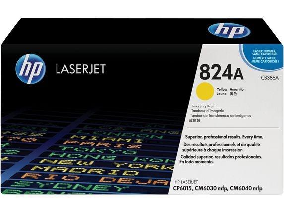 Tambor de imagem HP 824A LaserJet, amarelo (CB386A)
