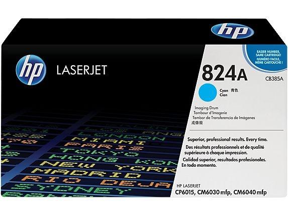 Tambor de imagem HP 824A LaserJet ciano (CB385A)