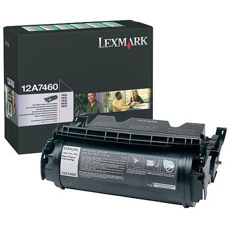 Toner Lexmark T630 12A7460 X630 X632 Original