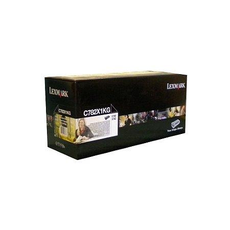 Toner Lexmark C782dtn C782X1KG C782n Original