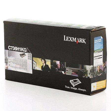 Toner Lexmark C736dn C736H1KG C736 Original