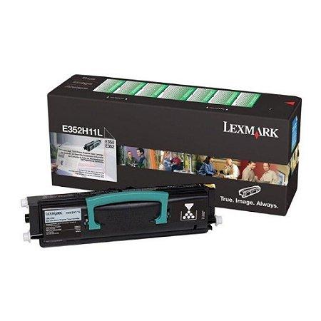 Toner E352 - E352H11L Lexmark E350 E352 Original