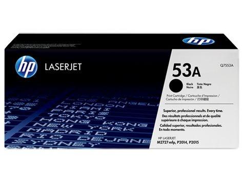 Toner HP Laserjet 53A Preto Q7553A Original