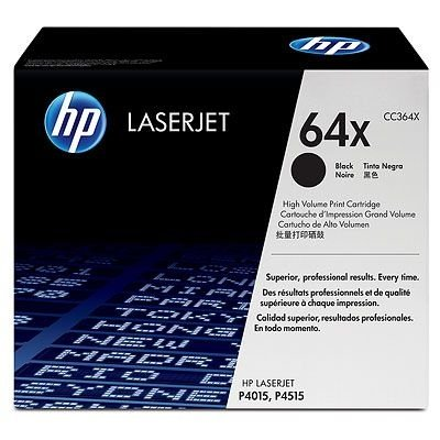 Toner HP 64X Original CC364X Black | P4015N | P4015TN
