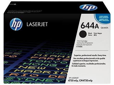 Cartucho de toner LaserJet preto HP 644A original(Q6460A)