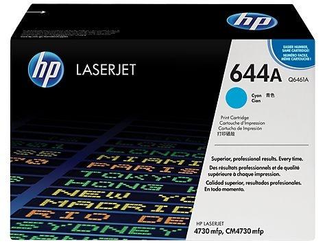 Cartucho de toner LaserJet HP 644A Ciano Q6461A Original