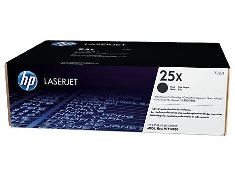 Cartucho de toner LaserJet preto de alto rendimento HP 25X original(CF325X)