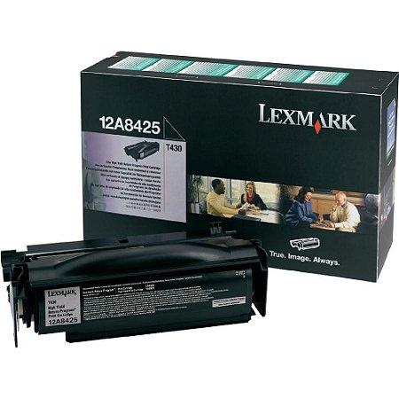 Toner Lexmark T430dn 12A8425 T430dtn Original