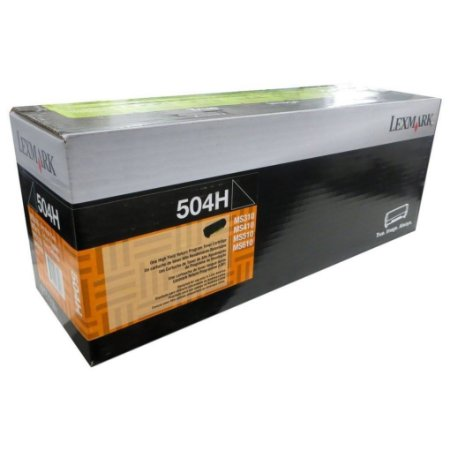 Toner Lexmark 504H 50F4H00 p/ MS310 MS410 MS610
