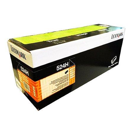 Toner Lexmark 52BH / 52DBH00 - 524H / 52D4H00 Preto Original