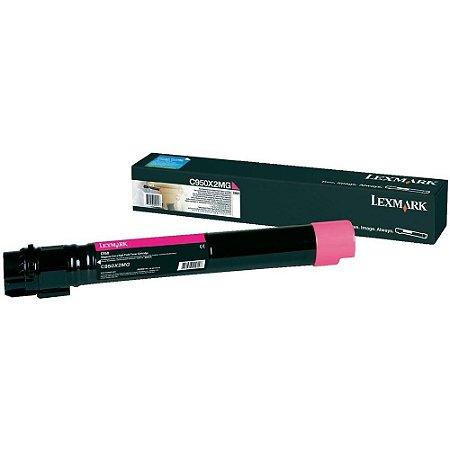 Toner Lexmark C950 C950X2MG C950 Magenta Original