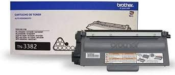 Cartucho de Toner Brother TN3382 Preto Original 8.000 Pág.