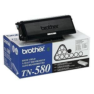 Cartucho de Toner Brother TN580 Preto Original - 7.000 Pág