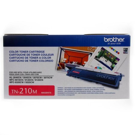 Toner Brother HL-3040 TN210M Original MFC-9010 - 1400 Pgs – Magenta