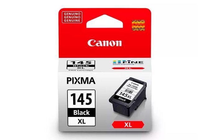Cartucho de Tinta Canon Preto PG-145XL com 12ml