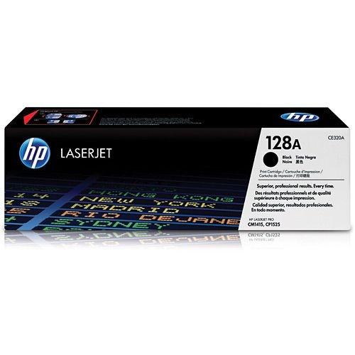 Cartucho de toner LaserJet preto HP 128A original (CE320A)