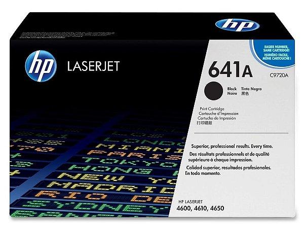 Cartucho de toner LaserJet preto HP 641A original (C9720A)