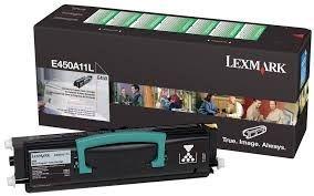 Cartucho de Toner Lexmark E450A11L Preto Original