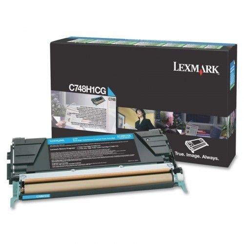 Cartucho de Toner C748 C748H1CG 10K Ciano Original