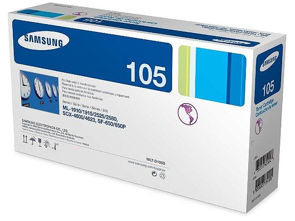 Cartucho toner p/Samsung preto MLT-D105S Samsung CX 1 UN