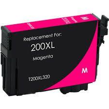 Compativel: Cartucho De Tinta Lexmark 200xl 14l0176 Magenta 18014 MecSupri