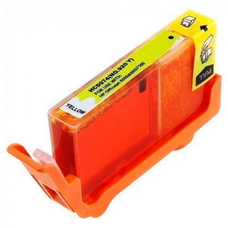 Compativel: Cartucho de Tinta HP 920XL - Amarelo - CD974AL - Mecsupri