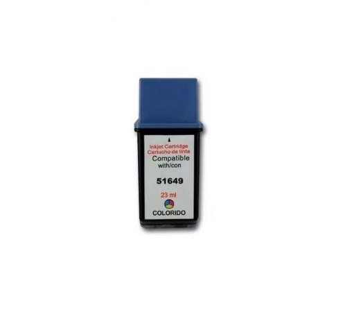 Cartucho de Tinta HP 49 - 51649AL - Colorido - Mecsupri