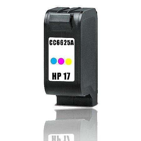 Cartucho de Tinta Compatível com HP 17 - C6625A - Colorido - Mecsupri