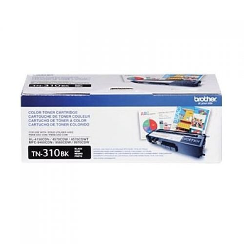 Cartucho toner p/Brother preto p/2500 pag. TN-310BK Brother CX 1 UN