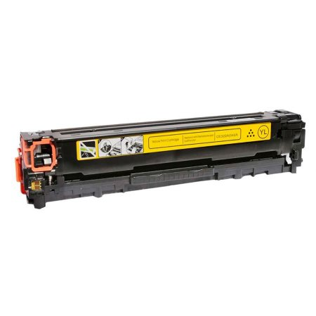 Cartucho de Toner Mecsupri Compatível com  HP CB542A Amarelo 125A