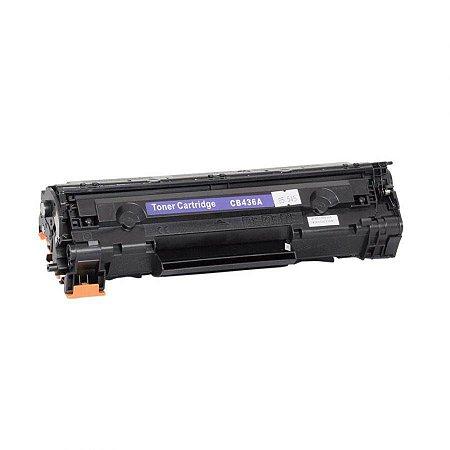 Cartucho de Toner Mecsupri Compatível com HP 36A Preto CB436AB