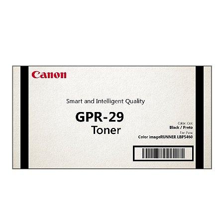 Cartucho Toner Canon GPR29  Preto 2645B004AA Original