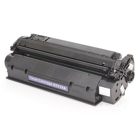 Cartucho de Toner HP 15A - C7115A - Preto - Mecsupri