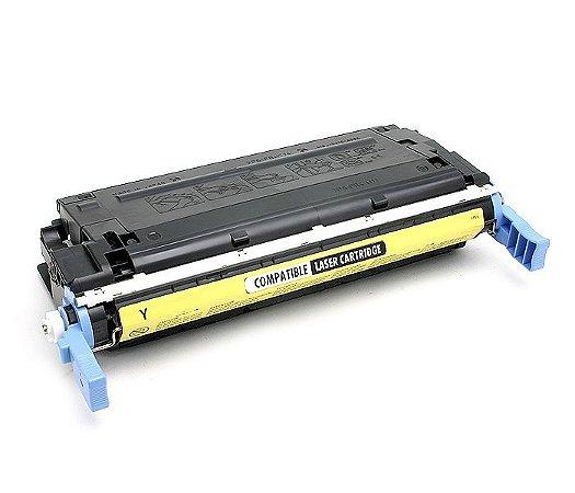 Cartucho de Toner HP C9722A - HP 641A - Amarelo - Mecsupri