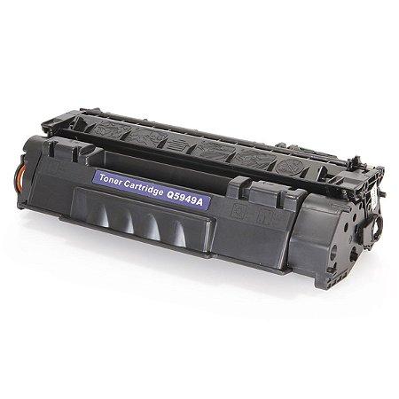 Cartucho de Toner HP - Q5949A - 49A - Preto - Mecsupri