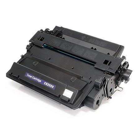Cartucho de Toner Mecsupri Compatível com HP 55X Preto CE255X